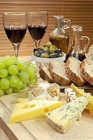 Resultado de imagen para queso pan y vino significado