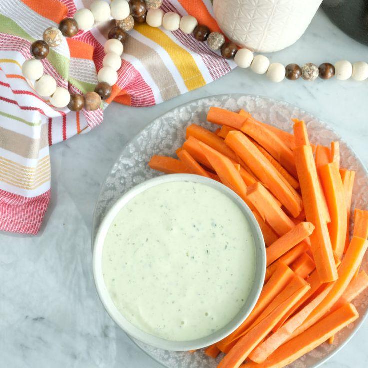Image result for Greek Dip and carrot sticks