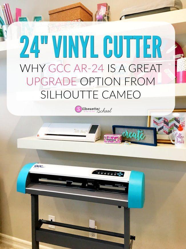 Affordable 24 Vinyl Cutter Using Gcc With Silhouette Studio Pros And Cons Vinyl Cutter Vinyl Cutter Machine Vinyl Printer