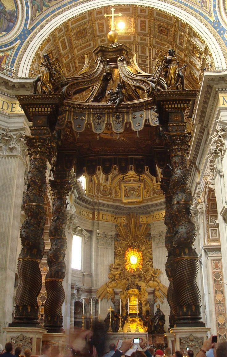 Monumento ao Papa Alexandre VII, Bernini, 1678, Basílica de São Pedro.