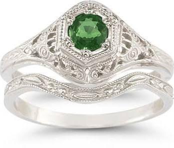 emerald ring - Google Search