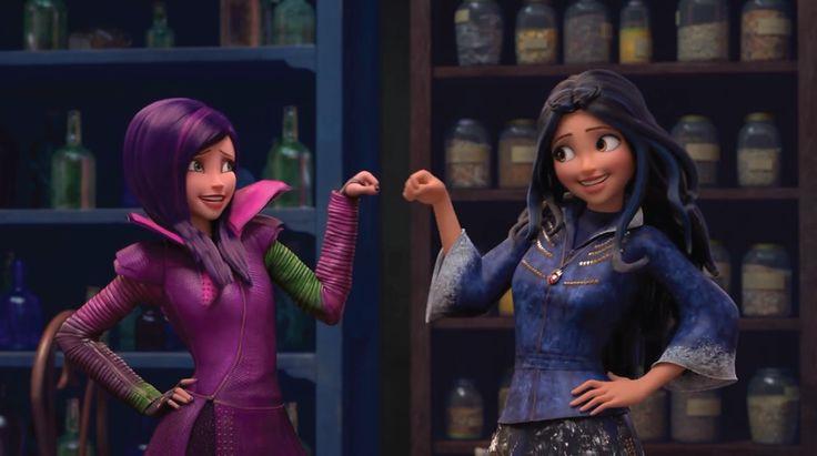 Disney Launches 'Descendants' Short-Form Series | Animation World Network OMG!!!!