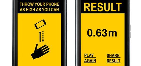 El app que te reta a lanzar tu celular