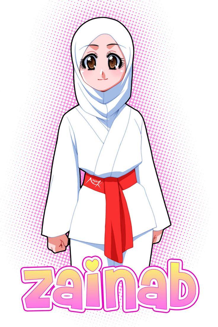 Pin by Zainab Iqbal on Me!!! Anime muslimah, Anime