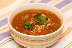 Грузинский суп харчо - пошаговый рецепт с фото: С говядиной, рисом, красной фасолью и специями. - Леди Mail.Ru