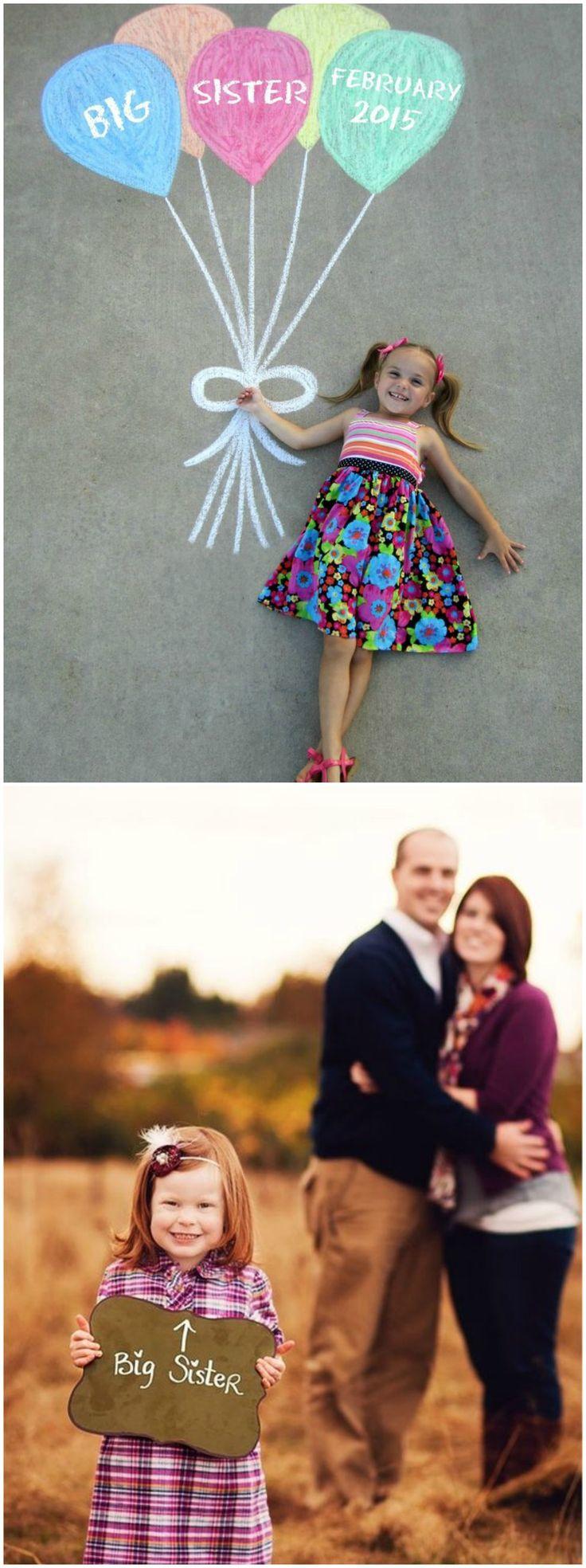 Anunciar el embarazo. Visto en www.accesoriosbebe.net