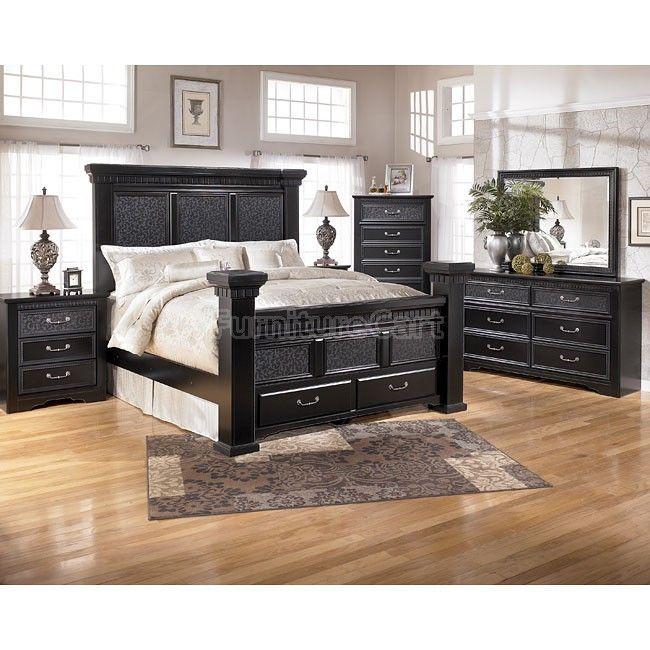 Ashley Furniture Philadelphia: Cavallino Storage Bedroom Set In 2019
