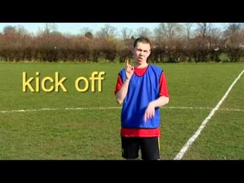 BSL for football | Chapter 3 - Football skill - YouTube... 1