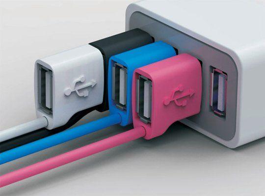 Infinite USB Connector. Genius idea.