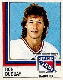 1987-88 Panini Stickers #119 Ron Duguay Front