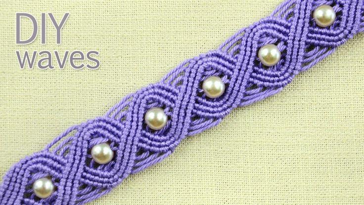 DIY Eternal Waves - Pandora Style Bracelet Tutorial
