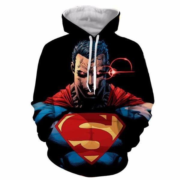 Superman 3D Printed Alternate Superman Hoodie