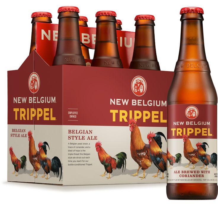 New Belgium Brewery Trippel Belgian Style Ale beer