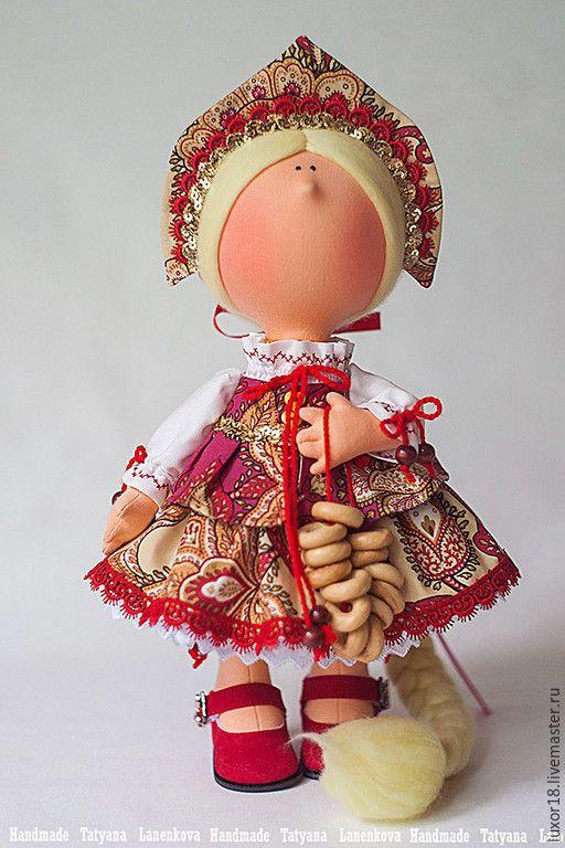 Купить Русские узоры - разноцветный, коллекционная кукла, коллекционные игрушки, авторская ручная работа
