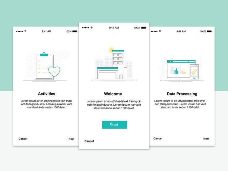 Medical App Design - Healthcare