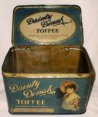 Dainty Dinah tin