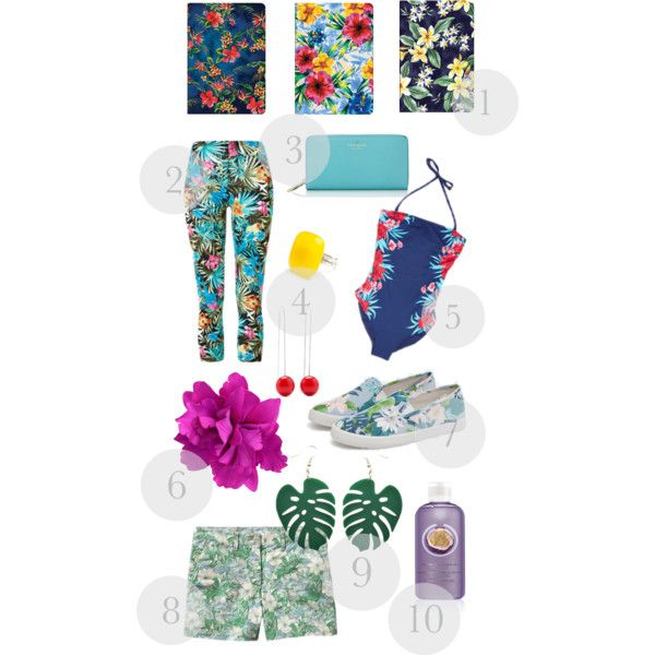 """tropical"" by myreille on Polyvore"