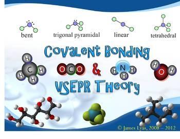 Covalent Bonding & VSEPR Theory 5-Day Unit