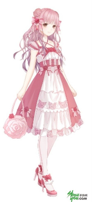 Hoa Lấp Lánh | designs | Anime dress, Anime girl pink, Anime