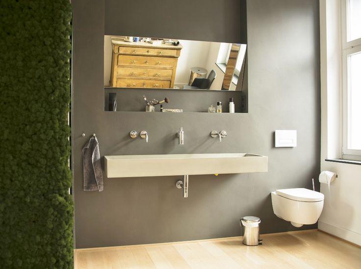 Superb Wieder ein Beispiel f r ein fugenloses Bad in Kalkmarmorputz Nachdem unsere Kunden furchtbar viel rger mit