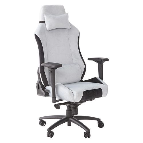 All White Gaming Chair