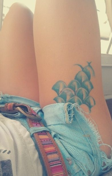 95 best images about tattoos on pinterest tattoo side for Fish vagina tattoo