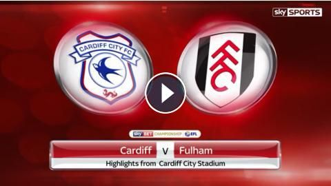 Cardiff City 2 - 2 Fulham Highlights and Goals - Sky Bet Championship - 25 February 2017. Watch full time video highlights of EFL Championship match: ...