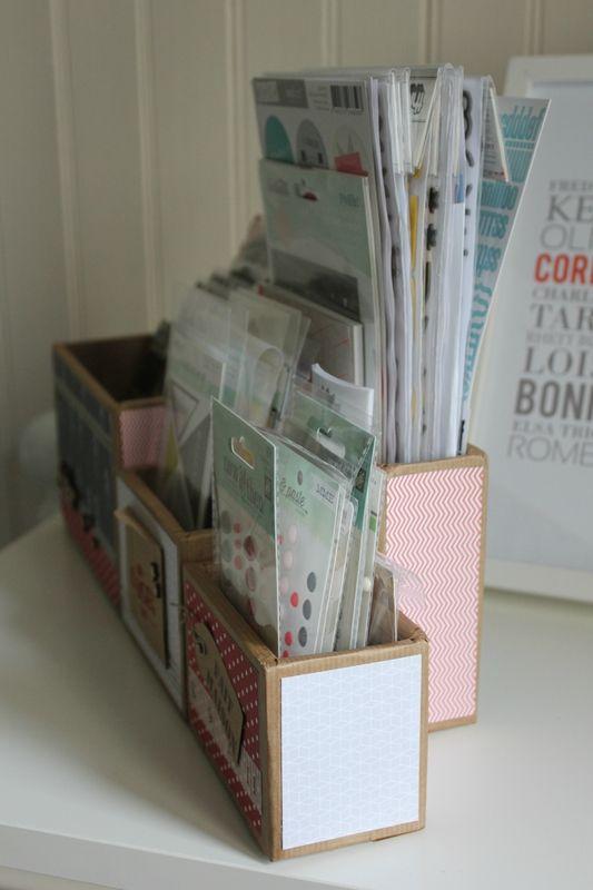 Idée cartonnage