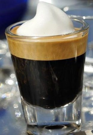 I wish someone would tell Starbucks that this is what a macchiato is supposed to look like. Not a latte. UHHDURRR.