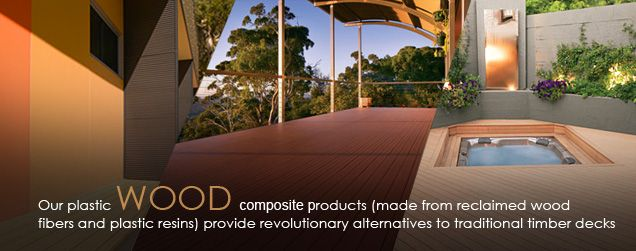 Greenwood composite timber decking products give you long-life good looks. Composite timber decking is not only highly durable and functional also requires very low maintenance.