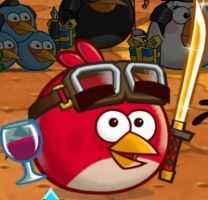 Angry Birds Fight style Toon Red (My Version) by Alex-Bird