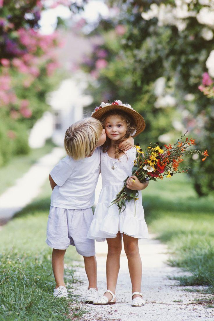 Boy kisses a girl — 15