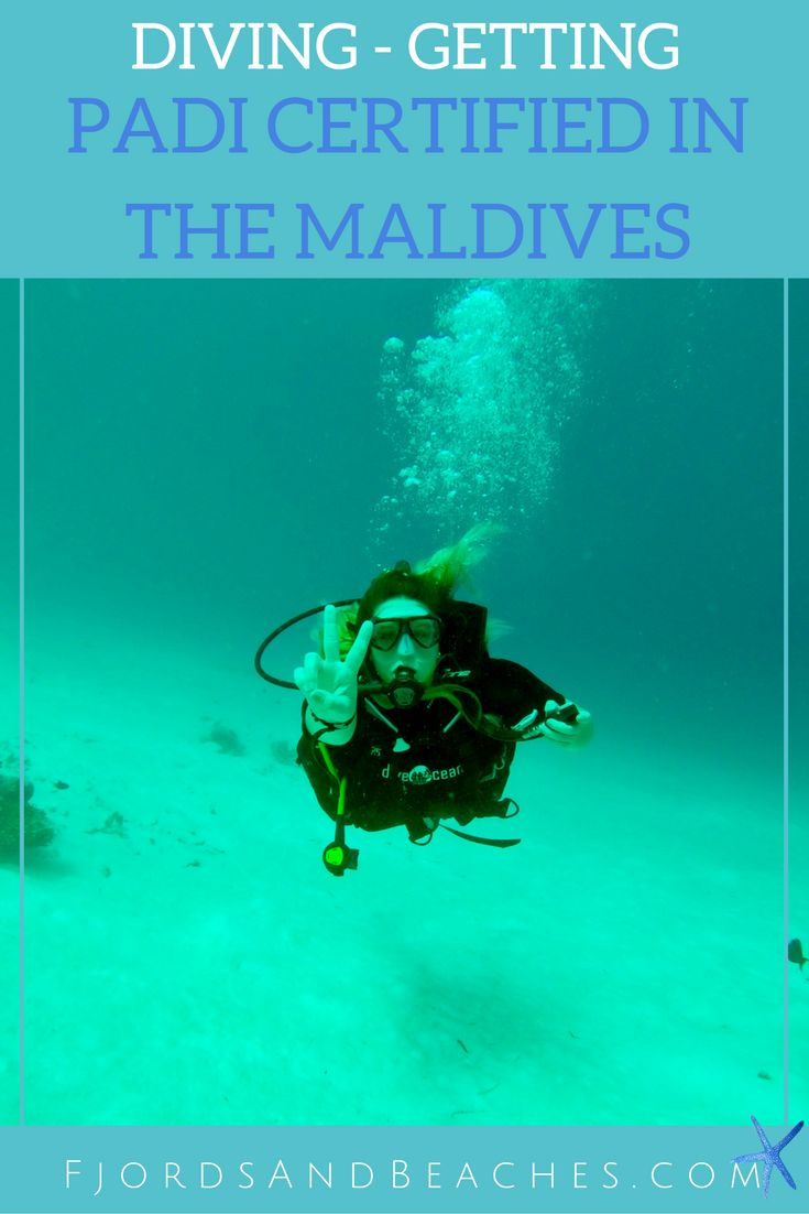 Scuba diving in the Maldives is an experience. Getting PADI Certified in the Maldives.