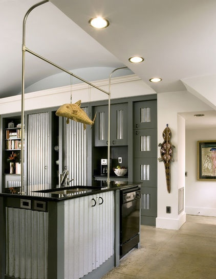 Cabinet Colors for Dark Appliances  See how to make your black kitchen appliances blend in and look great