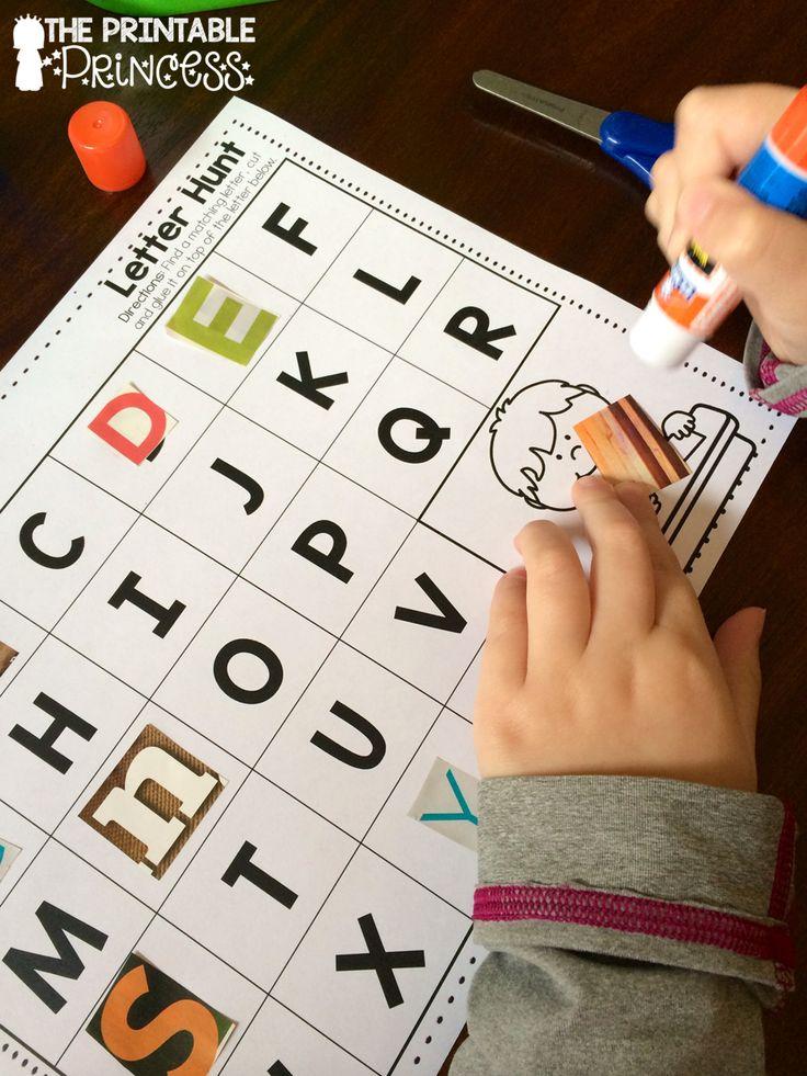 Begeleide of zelfstandige activiteit - Opzoek gaan in reclamefolder naar dezelfde letter