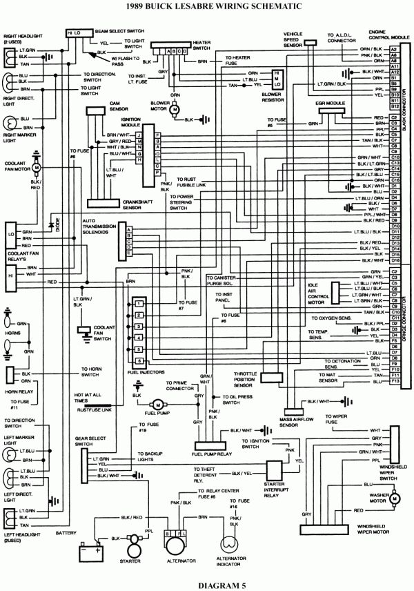 12 99 Buick Lesabre Engine Wire Diagram Engine Diagram In 2020