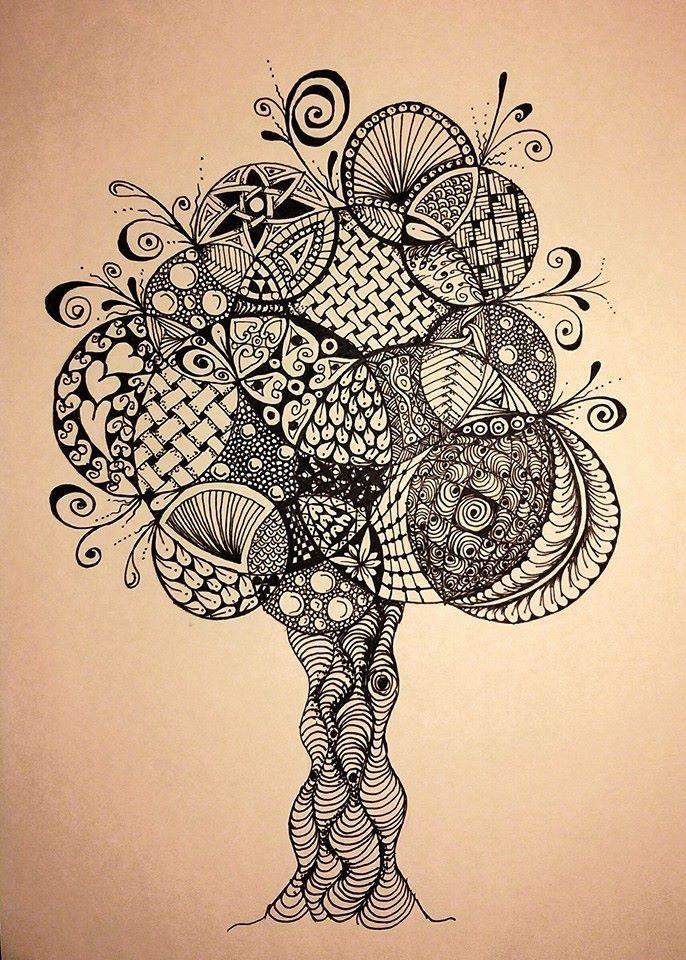 Doodle tree | Siân Thomas | Flickr