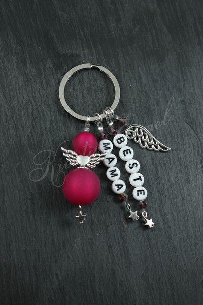 Schutzengel Anhänger - Schutzengel Anhänger ♥ Beste Mama ♥ Muttertag - ein Designerstück von Kreativ-Engel bei DaWanda