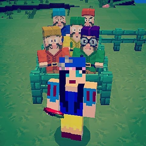 Double tap if you like Snow White or double tap with your nose 🍎👠👗❤️👑 #minecraft #minecraftmods #minecraftpe #minecraftcartoon #minecraftsnowwhite #minecraftpocketedition #minecraftfairytale #minecraftselfie #snowwhite #snowwhiteminecraft #snowwhiteandthesevendwarfs #minecraftdwarf...