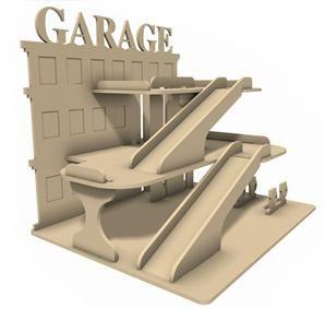 Garage en médium