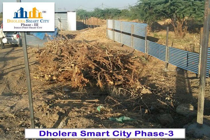 Dholera Smart City Phase 3 - Construction Started. #Dholera #DholeraSIR #DholeraSmartCity #Gujarat