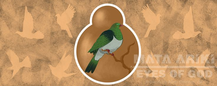 """""""Tiaki Kai"""" / preservation of food Kereru bird was a stable food source for Maori, my uncle had memories of hunting with his father, the importance of Matariki and Maori was the sharing of food, after the hunting and preparation of the birds, my uncle would stop at houses prior to home to share."""