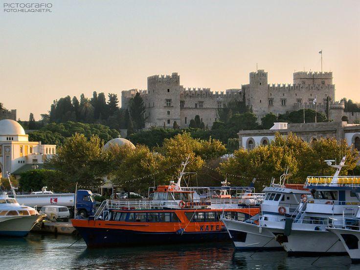 Pictografio: Rhodes castle
