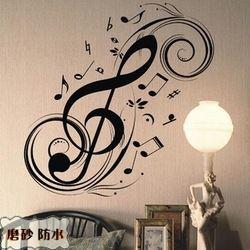 Opciones notas musicales para bordar o pintar for Opciones para decorar un cuarto