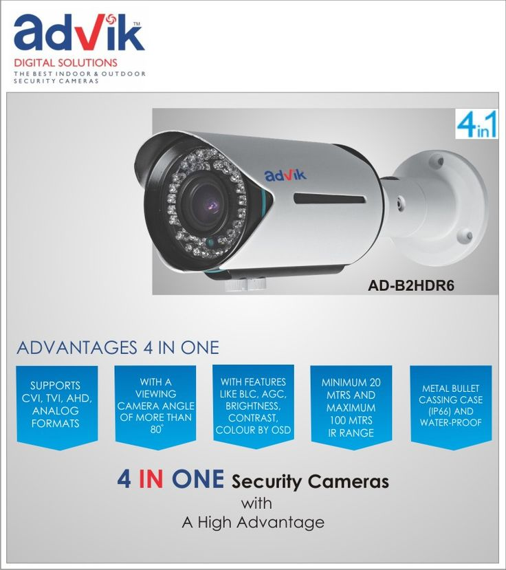 Switch to Aura 4 in 1 Security Camera !!! Switching over from the legacy of #IPcamera systems to ADVIK 's 4 in 1 #camera systems is the wisest choice today.