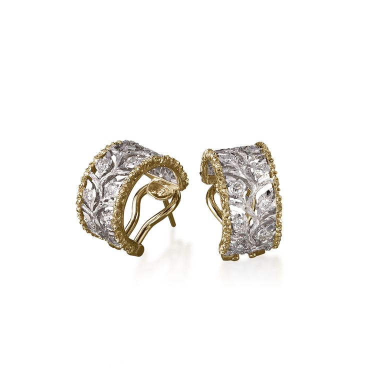 Ramage Hoop Earrings by Buccellati