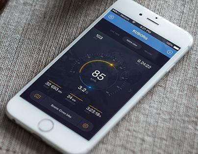 """다음 @Behance 프로젝트 확인: """"Kuberg - App Design IOS"""" https://www.behance.net/gallery/37100901/Kuberg-App-Design-IOS"""