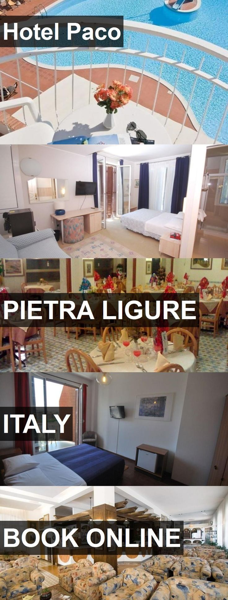 Hotel Hotel Paco in Pietra Ligure, Italy. For more information, photos, reviews and best prices please follow the link. #Italy #PietraLigure #HotelPaco #hotel #travel #vacation