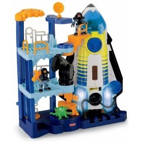 Fisher-Price Imaginext Space Shuttle and Tower by Fisher Price  (68)Buy new: $44.99  $38.65 34 used & new from $20.95(Visit the Most Wished For in Play Vehicles list for authoritative information on this product's current rank.) ... love it