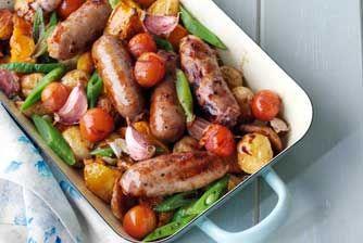 Sausage bake recipe - goodtoknow